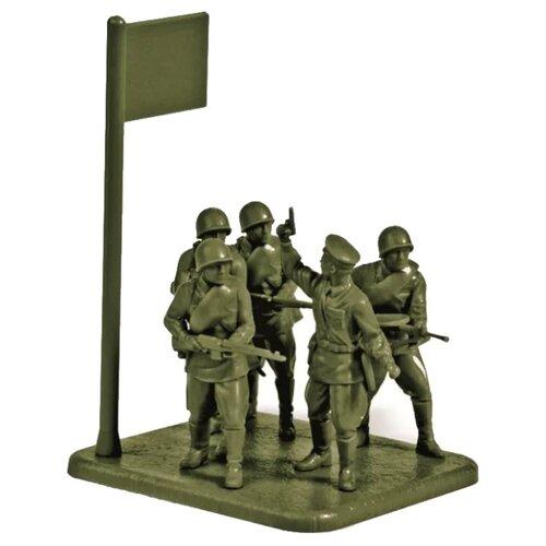 Фото - Сборная модель ZVEZDA Советская кадровая пехота 1941-1942 (6179) 1:72 сборная модель zvezda немецкая пехота в зимней форме 1941 1945 6198 1 72