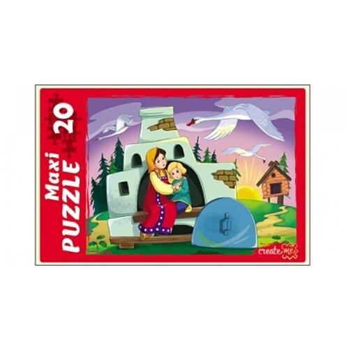 цена на Пазл Рыжий кот Maxi Гуси-Лебеди (ПМ-3849), 20 дет.