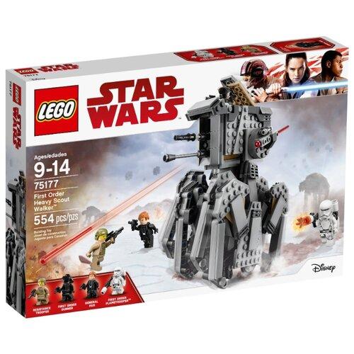 Купить Конструктор LEGO Star Wars 75177 Тяжелый разведывательный шагоход Первого Ордена, Конструкторы