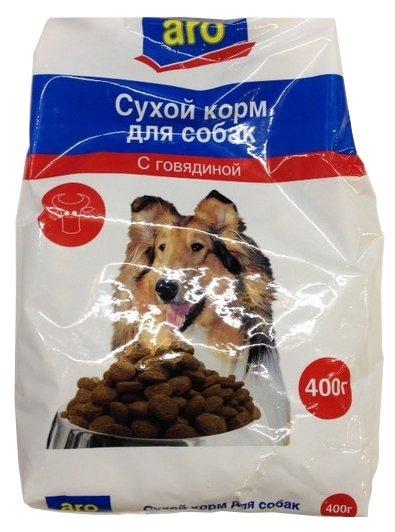 Корм для собак ARO Сухой корм для собак с говядиной