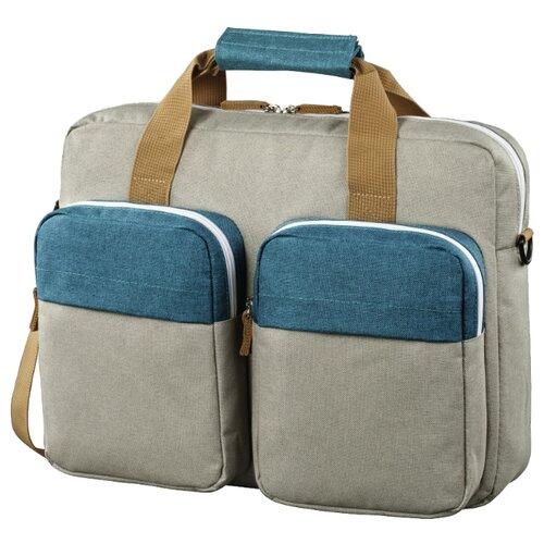Сумка HAMA Florence II Notebook Bag 15.6 petrol/grey  - купить со скидкой
