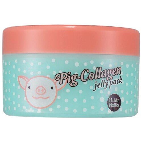 Holika Holika ночная гелевая маска Pig Collagen Jelly Pack, 80 мл holika holika ночная маска для лица pig collagen jelly pack 80г