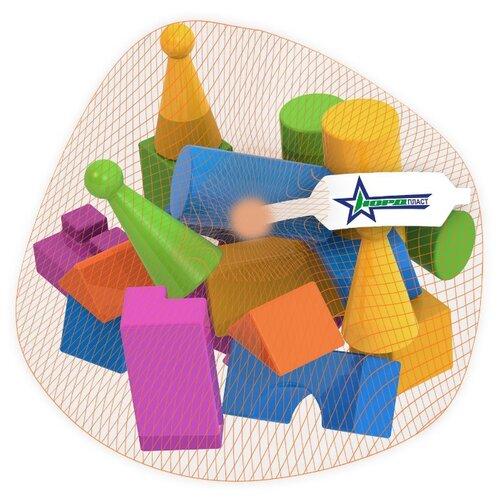Купить Кубики Нордпласт Конструктор выдувной 404/1, Детские кубики