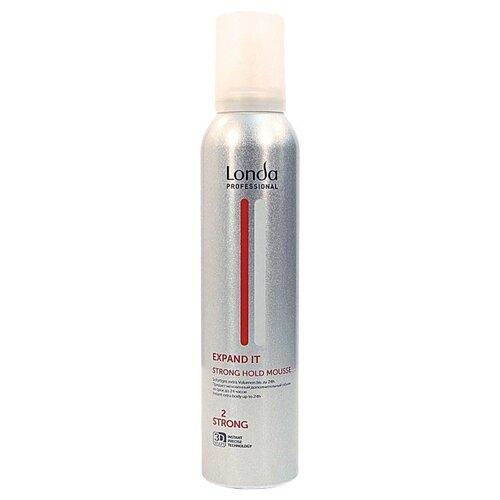 Londa Professional Expand It пена для волос сильной фиксации, 250 мл expand it пена для укладки волос сильной фиксации 250 мл londa professional styling