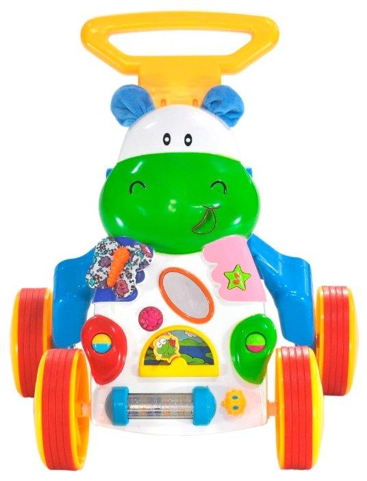Каталка-ходунки everflo Happy Hippo (HS0287737) со звуковыми эффектами