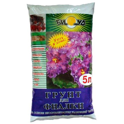 Грунт БИУД для фиалки 5 л. грунт биуд сады семирамиды для фиалки 2 5 л
