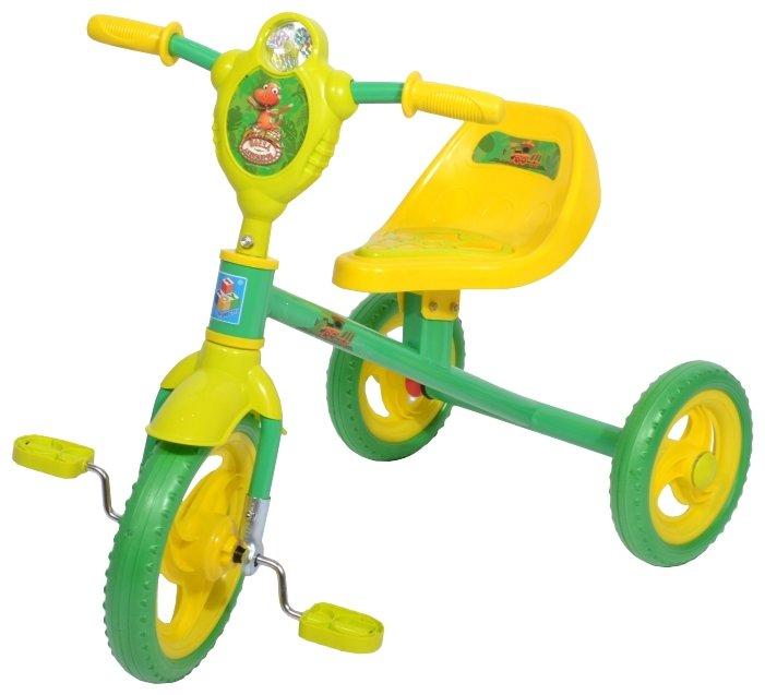 Трехколесный велосипед 1 TOY Т59978 Поезд Динозавров