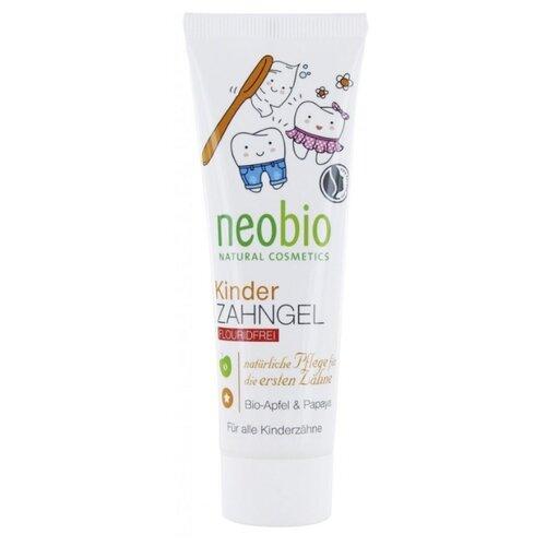 Купить Зубная паста Neobio Био-яблоко и папайя 0+, 50 мл, Гигиена полости рта