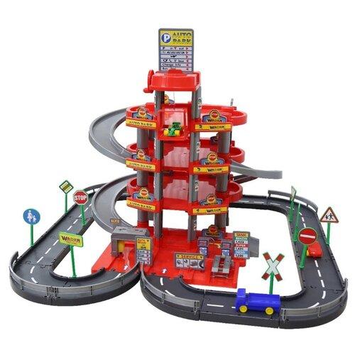 Купить Wader Паркинг 44723, Детские парковки и гаражи