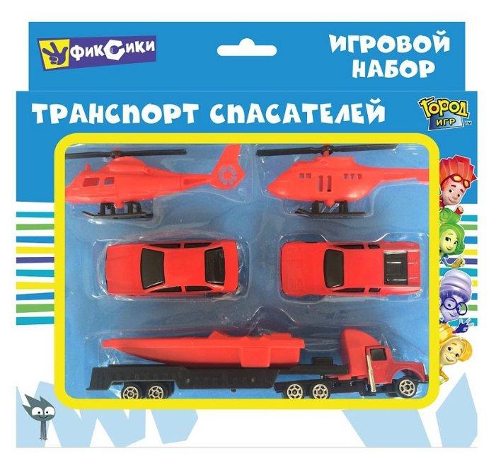 Набор техники Город Игр Фиксики - Транспорт спасателей (GI-6339)