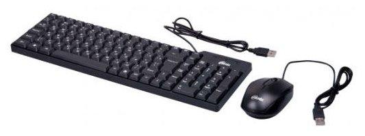 Ritmix Клавиатура и мышь Ritmix RKC-010 Black USB