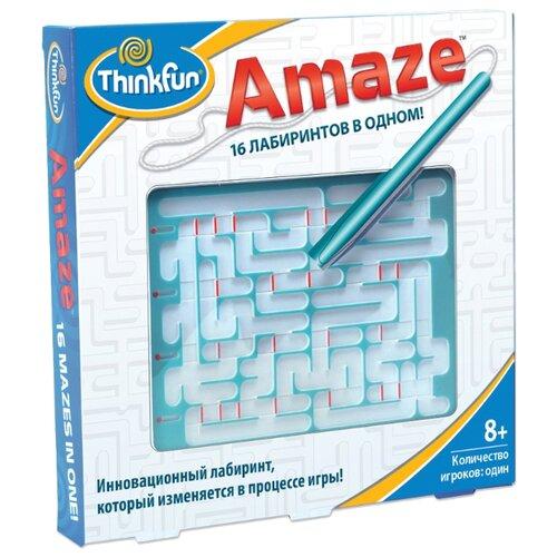 Головоломка ThinkFun Amaze Лабиринт 16 в одном (5820-RU) белый/голубой thinkfun головоломка шахматы для одного