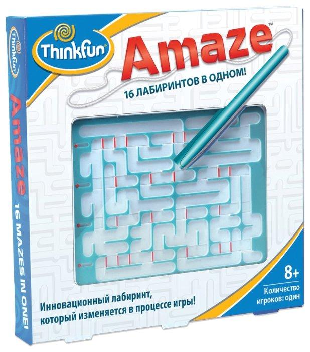 Головоломка ThinkFun Amaze Лабиринт 16 в одном (5820-RU) белый/голубой