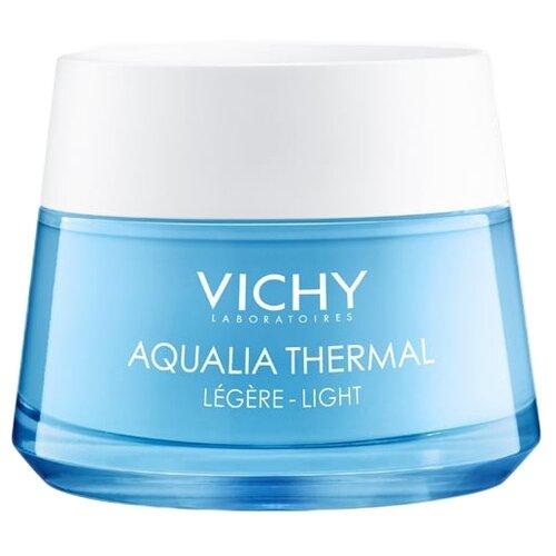 Vichy Aqualia Thermal крем увлажняющий легкий для нормальной кожи лица, 50 мл vichy aqualia thermal увлажняющая сыворотка для всех типов кожи лица 30 мл