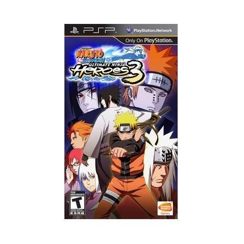 Игра для PlayStation Portable Naruto Shippuden: Ultimate Ninja Heroes 3
