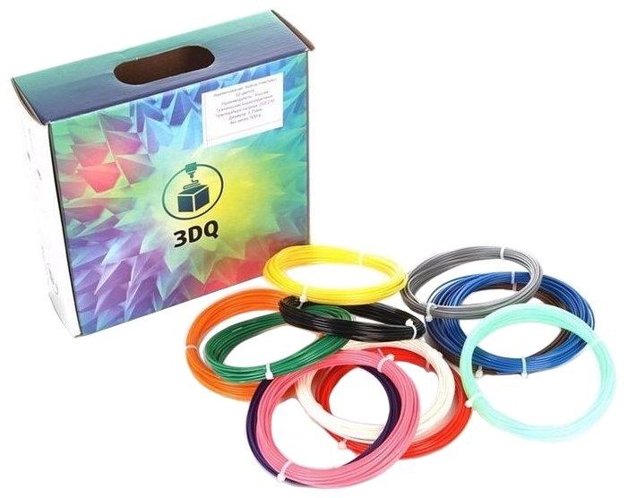 ABS пруток 3Dquality 1.75 мм 12 цветов