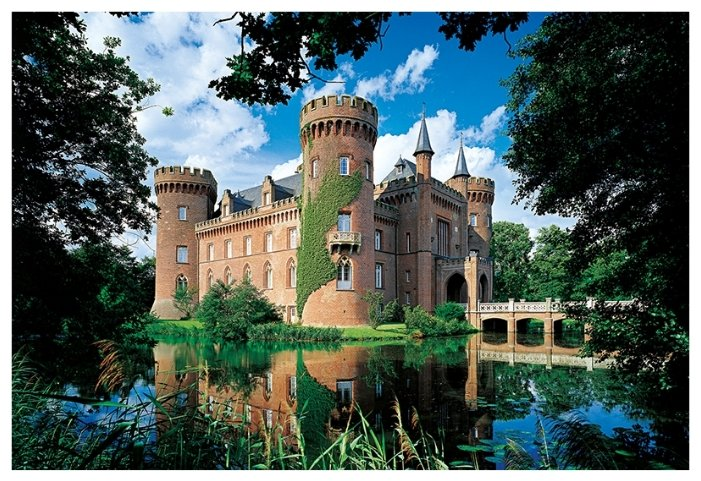 Пазл Trefl Замок Мойланд. Германия (26074), 1500 дет.