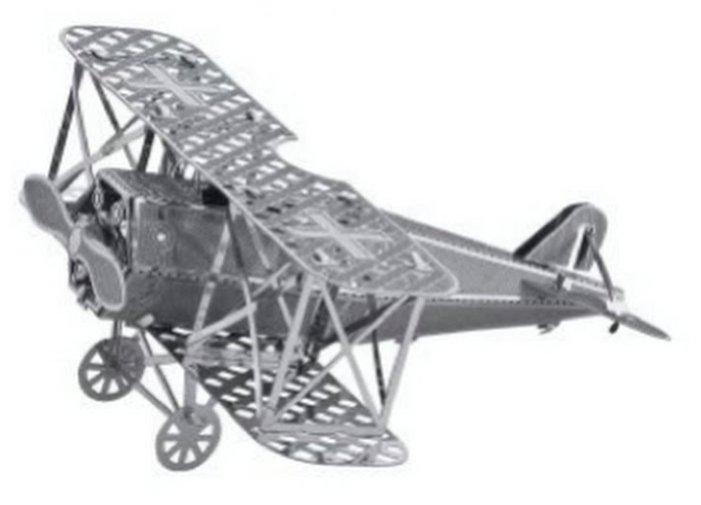 Сборная модель Educational Line 3D Metal Puzzle Самолет-Истребитель