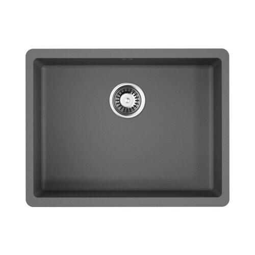 Врезная кухонная мойка 54 см OMOIKIRI Kata 54-U 4993411 ленинградский серый