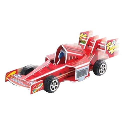 3D-пазл Pilotage 3D Гоночная машина красная (RC38101), 22 дет. машина радиоуправляемая pilotage topracer xb