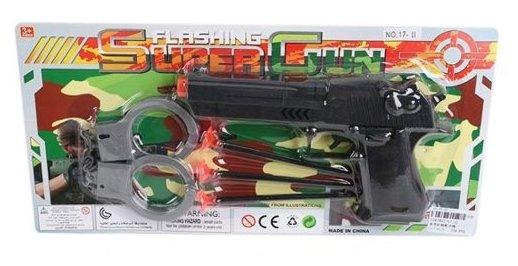 Игровой набор Shantou Gepai Flashing Super Gun 43056