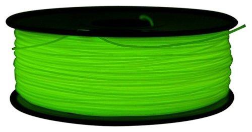 PLA пруток FL-33 1.75 мм зелёный флуоресцентный