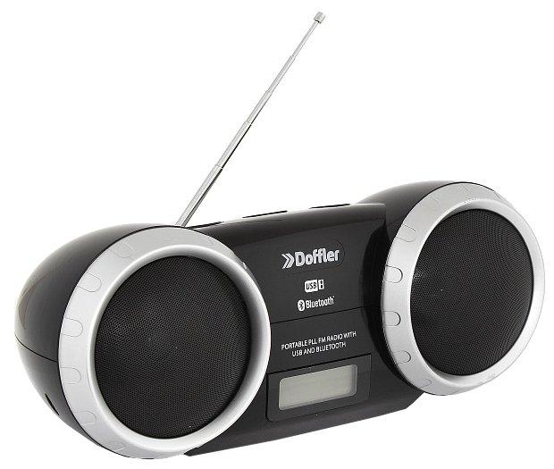 Doffler Магнитола Doffler CMP-1217BT