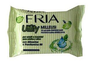 Влажные салфетки Fria с глицерином, 20 шт
