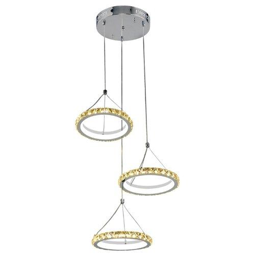 Купить со скидкой Люстра светодиодная Максисвет Геометрия 2-1631-3-CR+WH Y LED, LED, 27 Вт