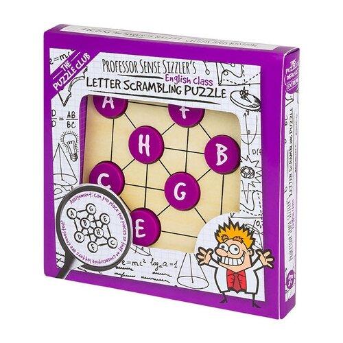Головоломка Professor Puzzle Professor Sense Sizzler's Letter Scrambling Puzzle (PC1417) бежевый
