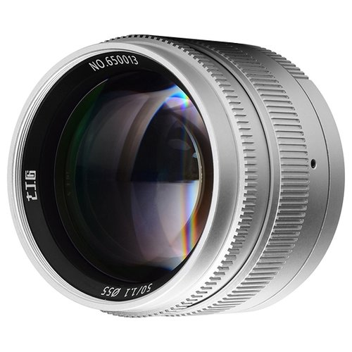 Фото - Объектив 7artisans 50mm f/1.1 Leica M объектив 7artisans 50mm f 1 8 canon ef m черный