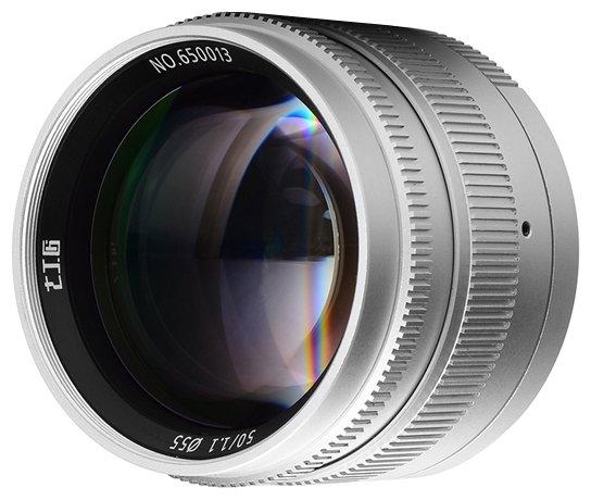Объектив 7artisans 50mm f/1.1 Leica M
