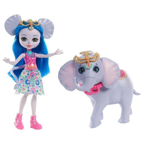 Купить Кукла Enchantimals Екатерина Слоник с любимой зверюшкой, 15 см, FKY73, Куклы и пупсы