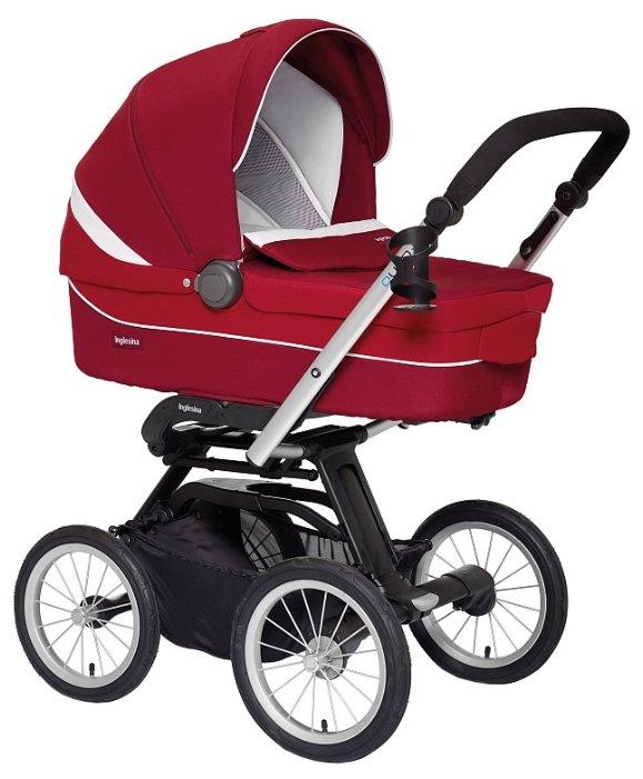Коляска для новорожденных Inglesina Sofia (шасси Quad XT) argento