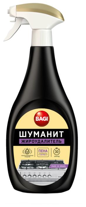 Концентрированная пена Шуманит жироудалитель Extra Bagi