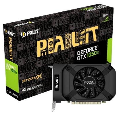 Видеокарта [nVidia GTX 1050Ti] 4096Mb GDDR5 | Palit GTX 1050 Ti StormX (NE5105T018G1-1070F)