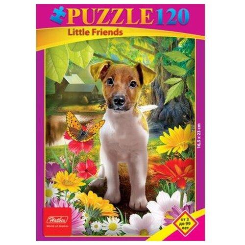 Купить Пазл Hatber Забавный щенок (120ПЗ5_05284), 120 дет., Пазлы