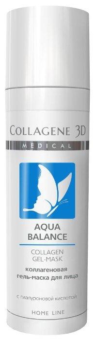 Medical Collagene 3D коллагеновая гель-маска Aqua Balance Home Line