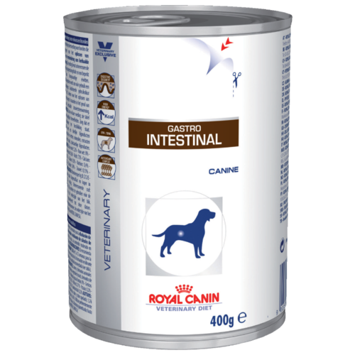 Royal Canin Gastro Intestinal сanine canned (0.4 кг) 12 шт. Лечебные корма