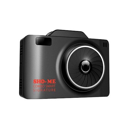 Видеорегистратор с радар-детектором SHO-ME COMBO SMART SIGNATURE, GPS, ГЛОНАСС черный