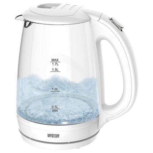 Чайник Mystery MEK-1642, white чайник mystery mek 1627