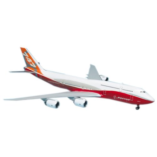 Купить Сборная модель ZVEZDA Пассажирский авиалайнер Боинг 747-8 (7010) 1:144, Сборные модели