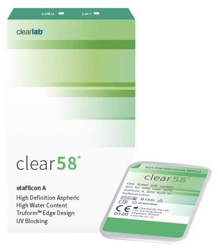 Clearlab Clear 58, 14.5 мм (6 линз)