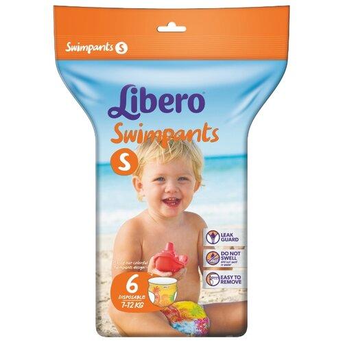 Libero трусики Swimpants S (7-12 кг) 6 шт. momi трусики m 6 10 кг 44 шт