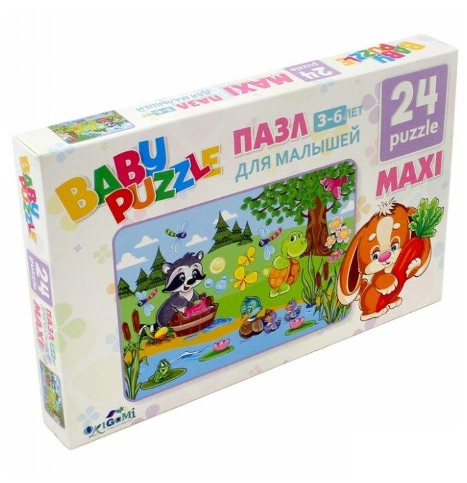 Пазл Origami Большая стирка (02985), 24 дет.