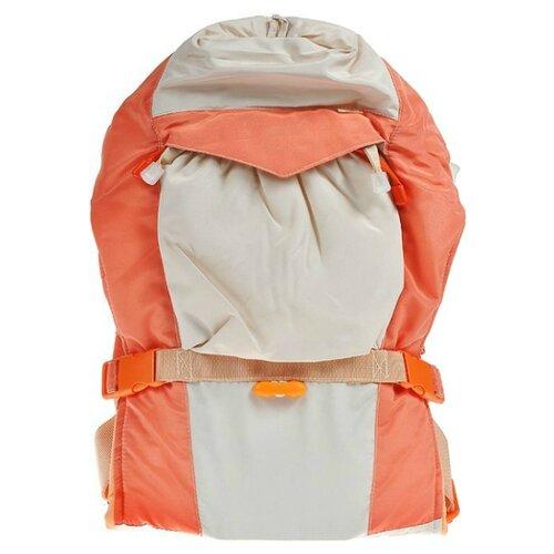 Купить Эргорюкзак Чудо-Чадо BabyActive Lux бежево-оранжевый, Рюкзаки и сумки-кенгуру