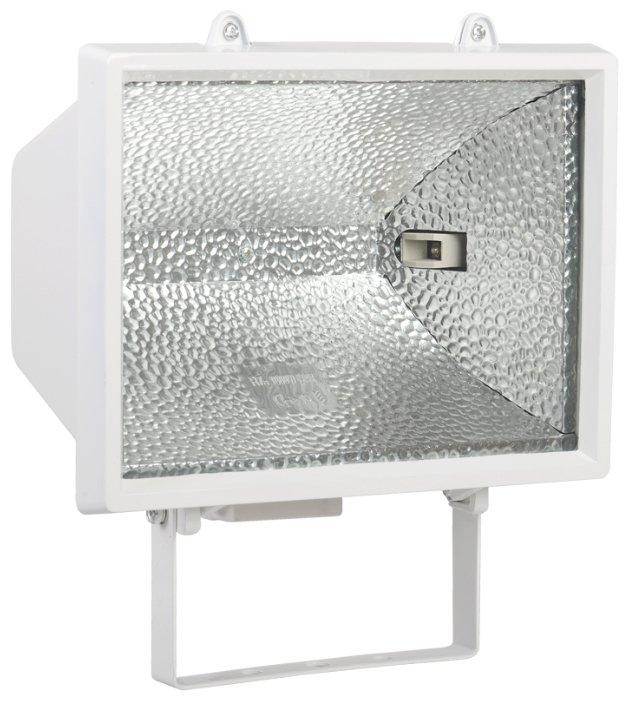 Галогенный прожектор IEK ИО-1000Вт симметричный патрон-цоколь R7s 1000W (Вт) 220V IP54 275х300х155 LPI01-1-1000-K01