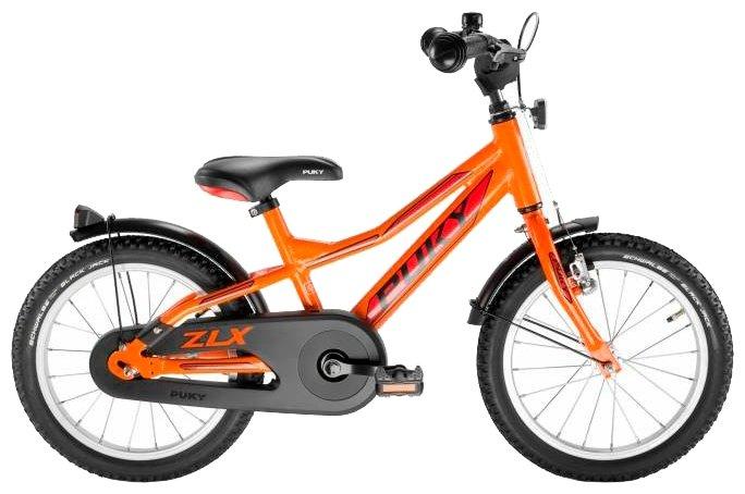 двухколесный велосипед puky zlx 16 alu черный