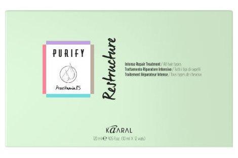 Kaaral Purify Restructure Интенсивный восстанавливающий лосьон создан специально для ухода за истощенными и поврежденными волосами (ампулы) — купить по выгодной цене на Яндекс.Маркете