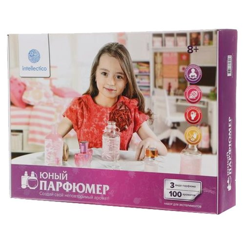Intellectico Юный парфюмер. Большой набор (704) каррас набор юный парфюмер мини famous